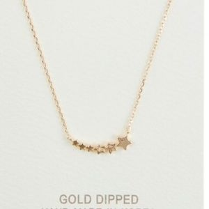 Jewelry - Gold Dipped Stars Necklace